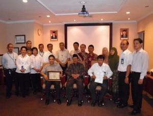 PT. AEROFOOD INDONESIA Unit Denpasar  sebagai catering Airline pertama di Indonesia yang memperoleh Status Sistem Jaminan Halal dengan nilai B