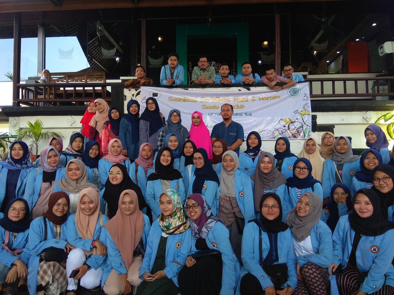 Silaturahim mahasiswa Unisba dengan PPOM MUI Provinsi Bali